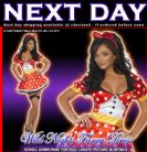 FANCY DRESS COSTUME # FEVER MISS MOUSE SM 8-10